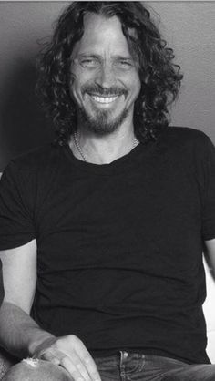 Chris Cornell why are you smiling? Oh, you just read my blog?  Tee hee.  *bats lashes* *gets hit by a semi*