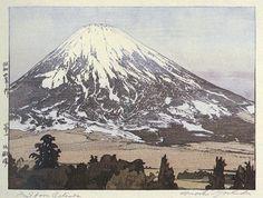 Fuji from Gotenba  by Hiroshi Yoshida, 1929