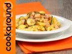 Crumble salato di zucchine