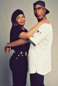 With Janet Jackson (Poetic Justice)