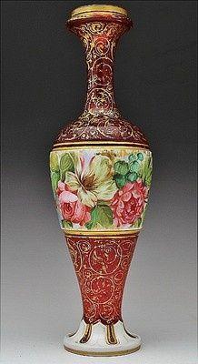 Moser vase/lamp base