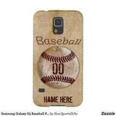 Shop Samsung Galaxy Baseball Phone Case PERSONALIZED created by YourSportsGifts. Personalize it with photos & text or purchase as is! Baseball Shop, Baseball Gifts, Baseball Teams, Baseball Stuff, Baseball Display, Baseball Players, Softball, Phone Cases Samsung Galaxy, Galaxy S5 Case