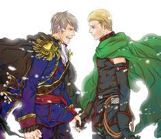 Germany and Prussia. WHOOOOOOOOOAAAAAAAH