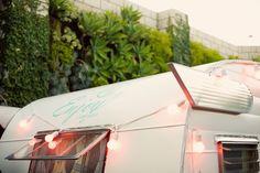 Caravan & Pink Lights