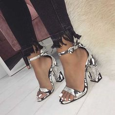 Lace Up Heels, Pumps Heels, Stiletto Heels, Snakeskin Heels, Ankle Strap Block Heel, Ankle Strap Sandals, Heeled Sandals, Gladiator Sandals, Ankle Straps