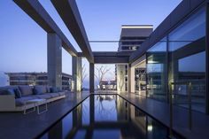 Square Compositions Penthouse by Pitsou Kedem Architects – casalibrary
