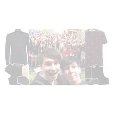 """""""» meet & greet - dan and phil"""" by sparkling-anxns ❤ liked on Polyvore"""