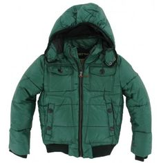 Reset - Winterjas green