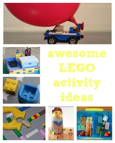 Awesome LEGO activities ideas  that you can do with kids