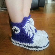 Crochet Nike Shoes Free Pattern For Adults