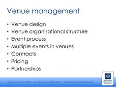 Management structure for event design company - Google Search