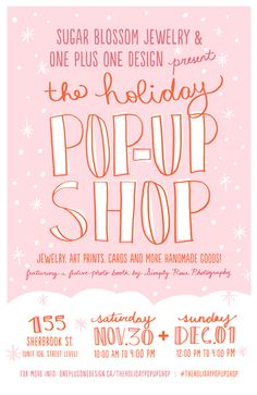 The Holiday Pop-Up Shop