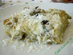 Pasticcio di carciofi (ricetta delicata)