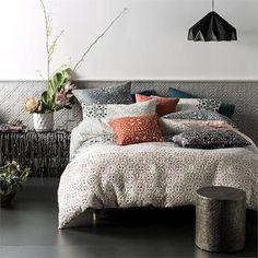 Amara Quilt Cover Set By Linen House-clicknbuyaustralia.com