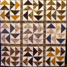 The geese are off and flying in this large quilt, made by a dedicated Craft Warehouse stitcher.