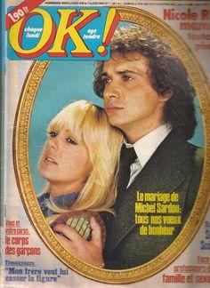OK magazine age tendre N°92 - Michel Sardou - année 1977
