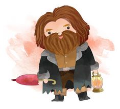 Rebus Hagrid Illustrations Harry Potter, Harry Potter Drawings, Harry Potter Ilustraciones, Hardy Potter, Hogwarts, Classe Harry Potter, Paper Toy, Little Duck, Colouring Pages