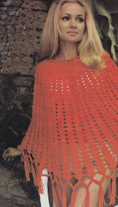 PDF poncho cover up vintage crochet pattern pdf INSTANT download summer beach wear pattern only pdf
