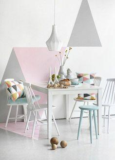 Farbpalette farbgestaltung wanddeko pastell wandfarben for Zimmer deko pastell