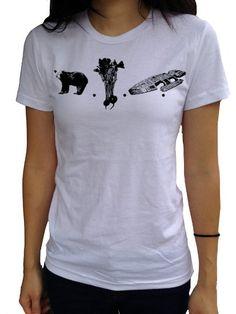 Amazon.com: I Heart Analogue Women's Dwight Schrute Bears Beets Battlestar Galactica Shirt: Clothing