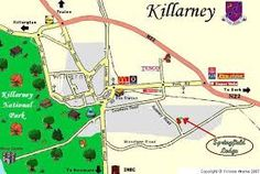 Image result for killarney co kerry Tourist Center, Cruise, Map, Cruises, Cards, Maps