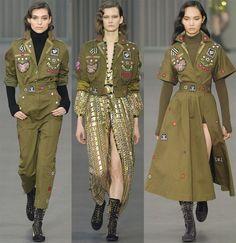 Το military look - Sofia's Happy World Winter Fashion Outfits, Look Fashion, Fashion Show, Womens Fashion, Fashion Design, Military Inspired Fashion, Military Fashion, Army Look, Military Looks
