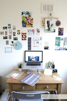 Office Workspace Makeover Before Curate and Display Blog3