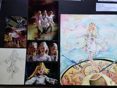 IGCSE Art Project - top in Spain