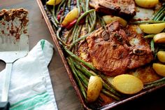 Sheet pan suppers. Recipes, and what to remember.