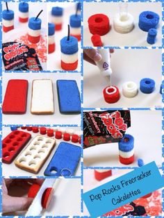 {DIY Pop Rocks Firecracker Cakelettes}
