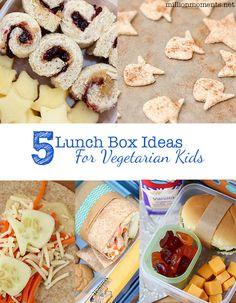 Easy veggie lunch box ideas for kids