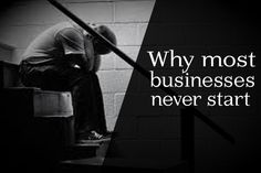 Why most businesses never start - Realideas