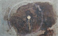 Mixed technique on canvas  73 x 116 cm  2012