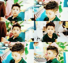Yoogeun's haircut!<---- OMOOO my little baby has grown!! When will you reunite with Shinee my adorable kid >____< I miss Hello Baby.. So many feels.. TT^TT beautiful times...