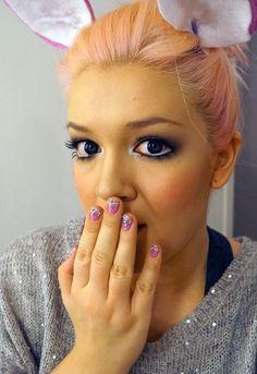 Gyaru make up - tutorial video - by Saara Sarvas | Lily