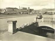 Estación de metro y alrededores de Fabra i Puig con Avenida Meridiana