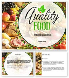 http://www.poweredtemplate.com/11288/0/index.html Quality Food PowerPoint Template