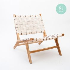 ARMCHAIR   tanner design in white by Barnaby Lane