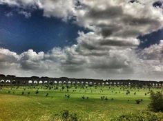 Roman aqueduct park