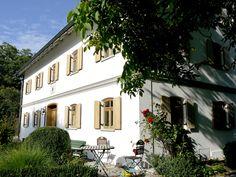 Bauernhaus in Großberghofen, Bayern.