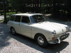 1966 Volkswagon 1600 Squareback - My favorite car. If I was a car...this would be me.;)