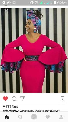 African Fashion Is Hot African Print Dresses, African Print Fashion, Africa Fashion, African Fashion Dresses, African Attire, African Wear, African Women, African Dress, Ankara Fashion