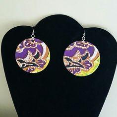 African Print Earrings Handmade Jewelry Earrings