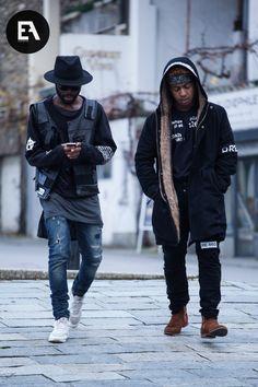 BLACK FASHION : Photo