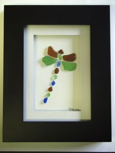 Love!  Beach glass for animals designs.  FINALLY something awesome to do with my beach glass!