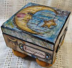 nicnac box upcycled trinket