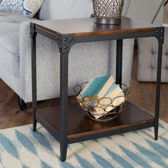 Have to have it. Belham Living Trenton Industrial End Table - $109.98 @hayneedle