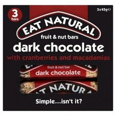 A nutritious bar with a hint of dark chocolate. Inside, you'll find coconut, brazil nuts, macadamias and fruity cranberries. A perfect snack to keep you fulfilled throughout the day, or as an addition to your breakfast.  www.freefromheaven.com
