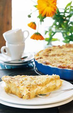 Omena-ansa   Tortut ja piirakat   Pirkka Finnish Recipes, Good Food, Yummy Food, Sweet Pastries, Sweet Pie, Food Tasting, Pastry Cake, Sweet And Salty, Desert Recipes