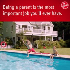 """""""Being a parent is the most important job you'll ever have.""""  #Mom #Dad #Kids #Quotes"""